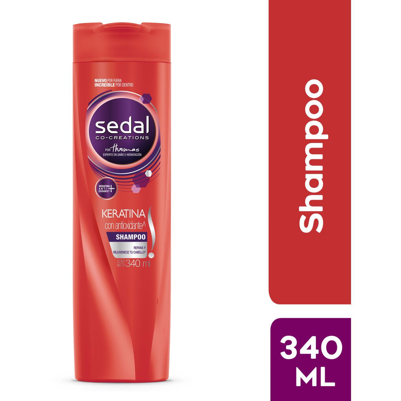 SEDAL Shampoo Keratina 340ml Sin color Shampoo de diario