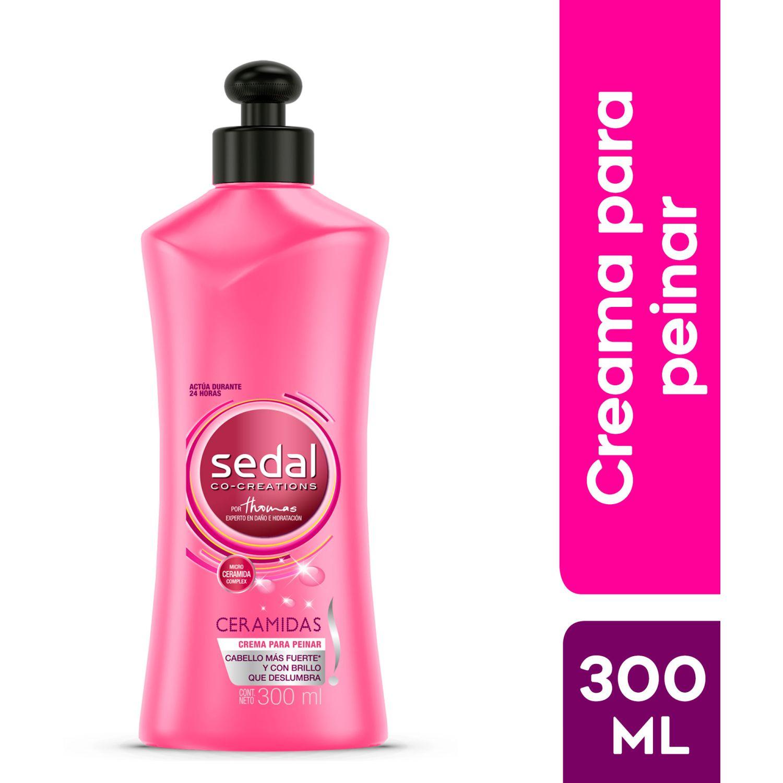 SEDAL Crema Para Peinar Ceramidas 300ml Sin color Tratamientos para Crecimiento