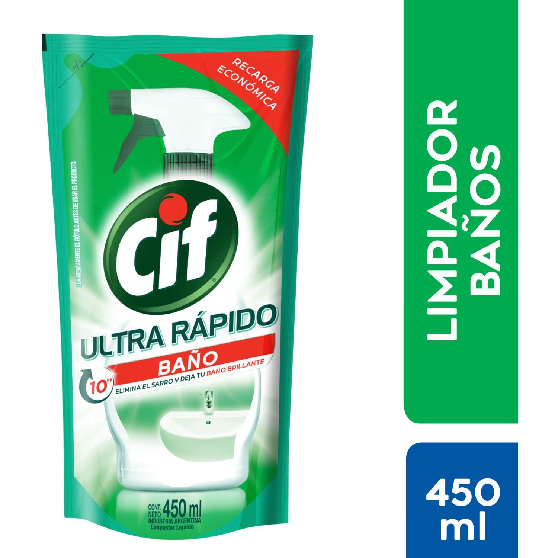 CIF Baño Doypack Recarga 450ml Sin color