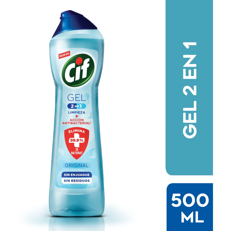 CIF Gel  2en1 Frasco 500ml Sin color Limpiadores multiusos para baño