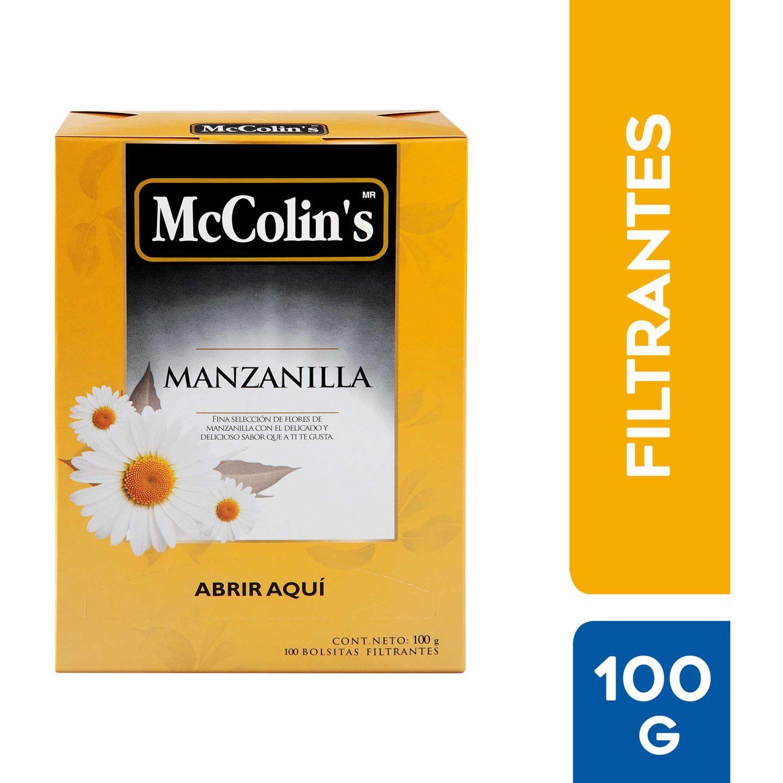 McColins Infusión Manzanilla X 100 Bolsitas Sin color Herbal