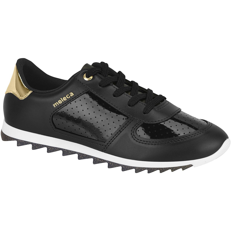 MOLECA 5690.105.20389-16579 Negro / dorado Zapatillas Fashion