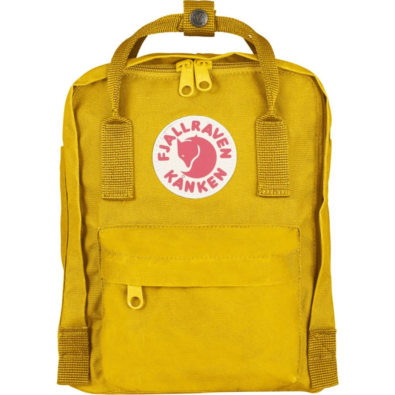 FJALLRAVEN Kanken Mini Amarillo mochilas