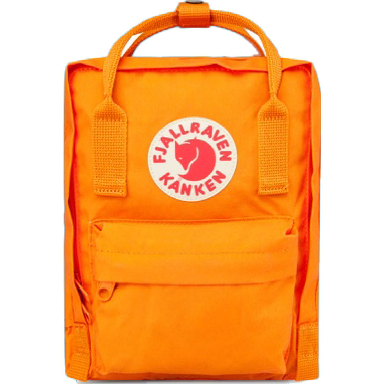 FJALLRAVEN Kanken Mini Naranja mochilas