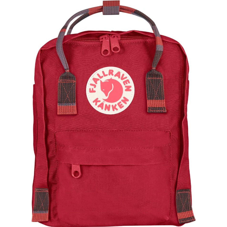 FJALLRAVEN Kanken Mini Rojo mochilas