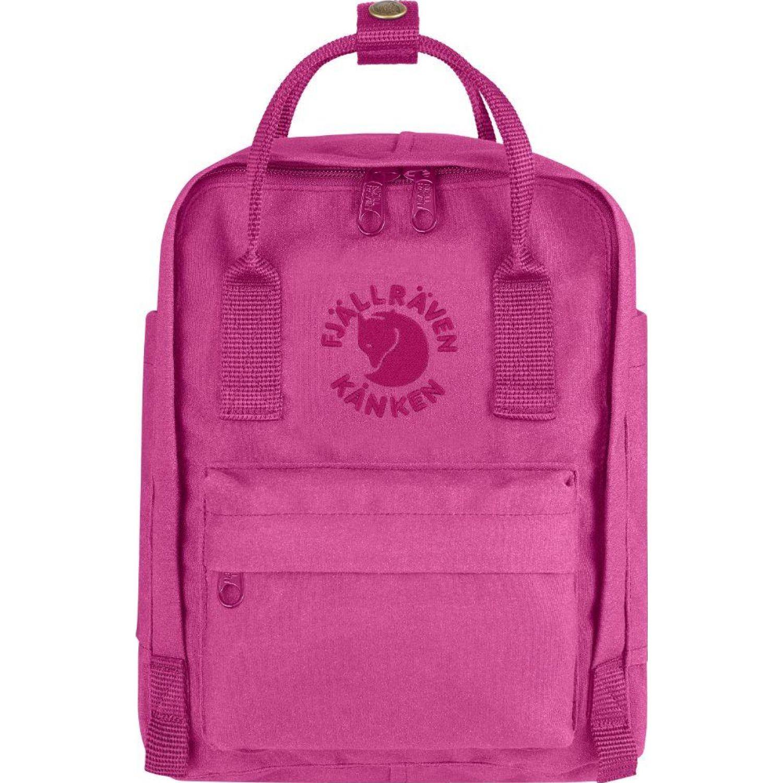 FJALLRAVEN Re-Kanken Mini Rosado mochilas