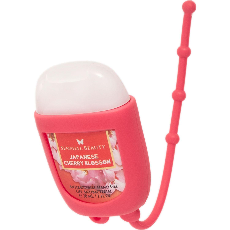 SENSUAL BEAUTY Gel Antibact. 30ml Japanese Cherry Bl. Rosado Los desinfectantes de manos