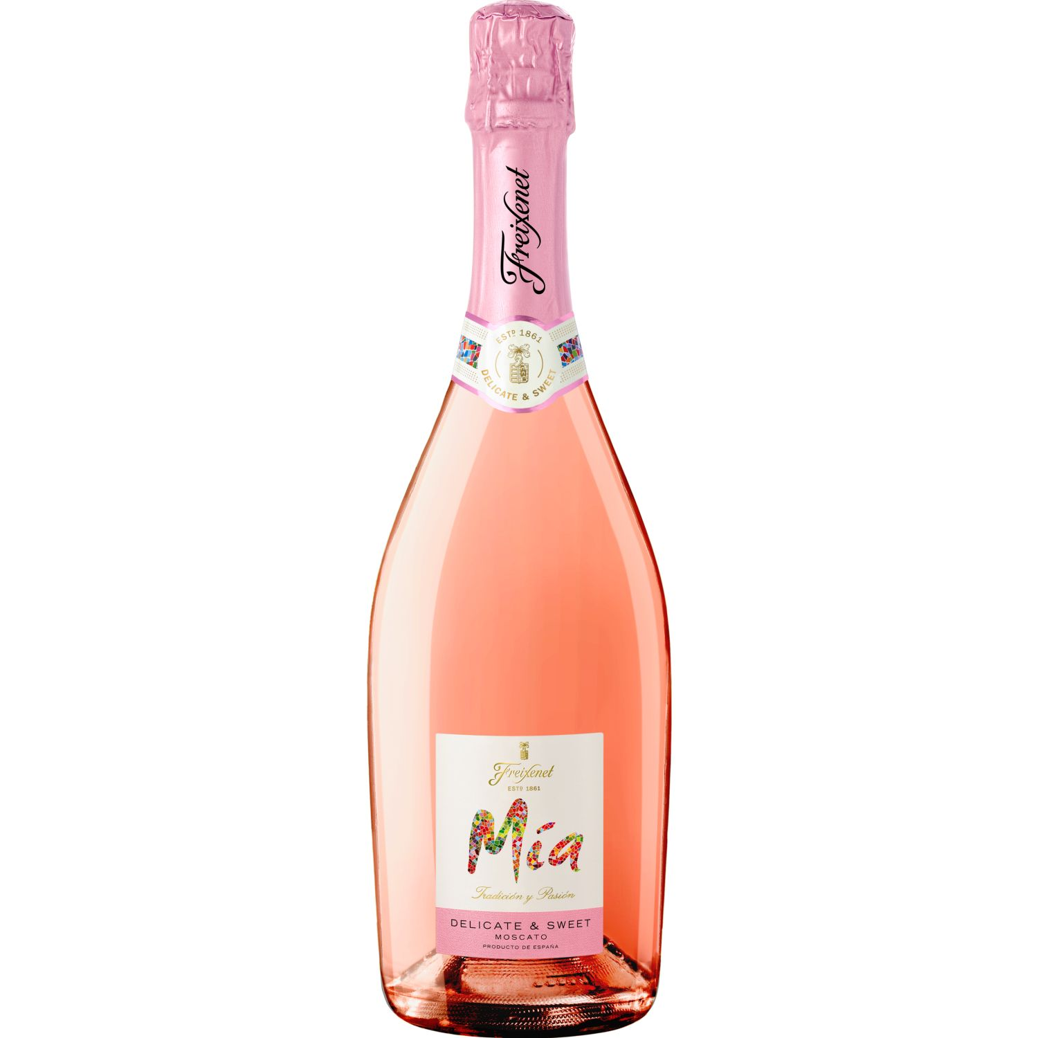 FREIXENET Espumante  Mia Moscato Rosado X 750ml Rosa Espumante