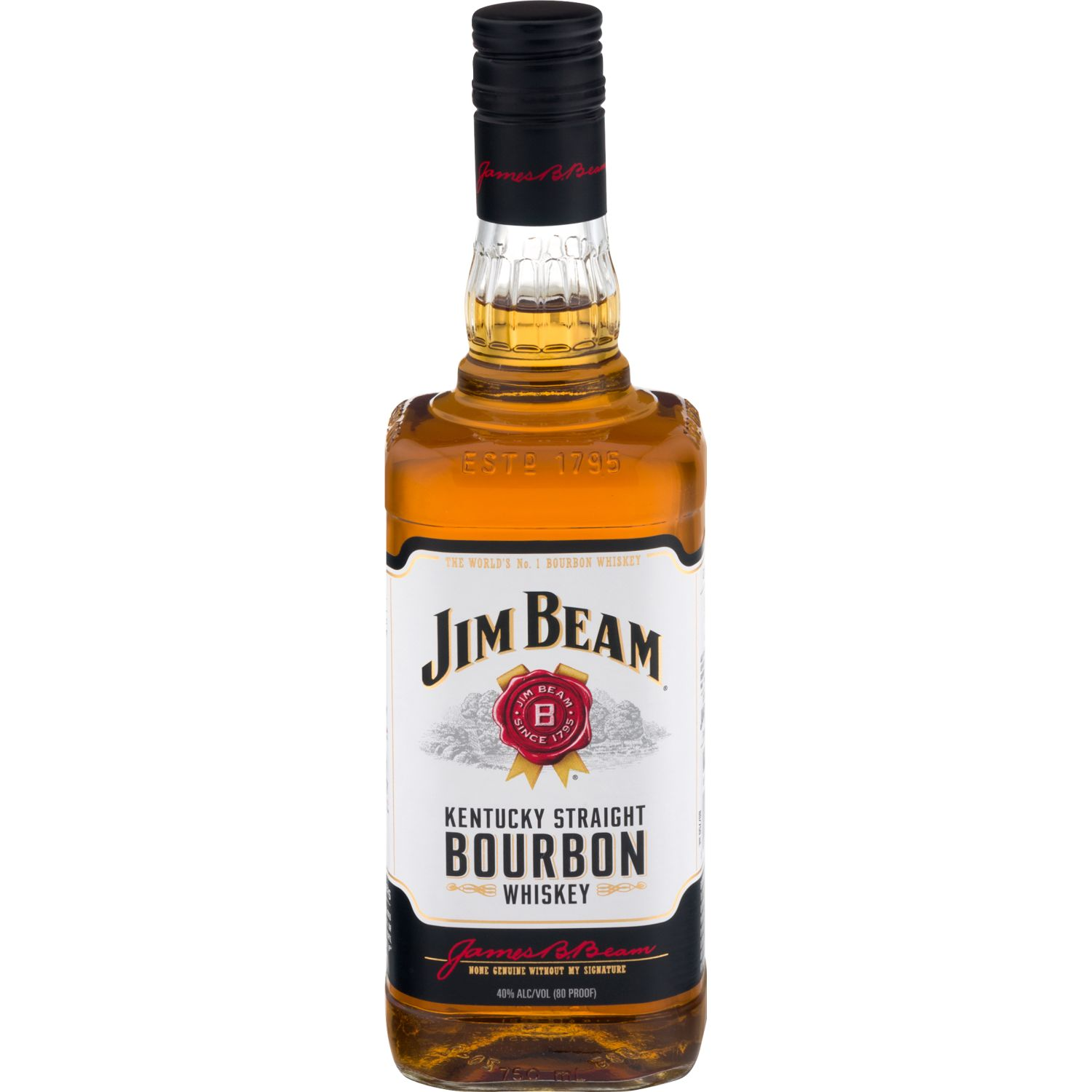 JIM BEAM Whisky Jim Beam White X 750ml Sin color Whisky y escocés