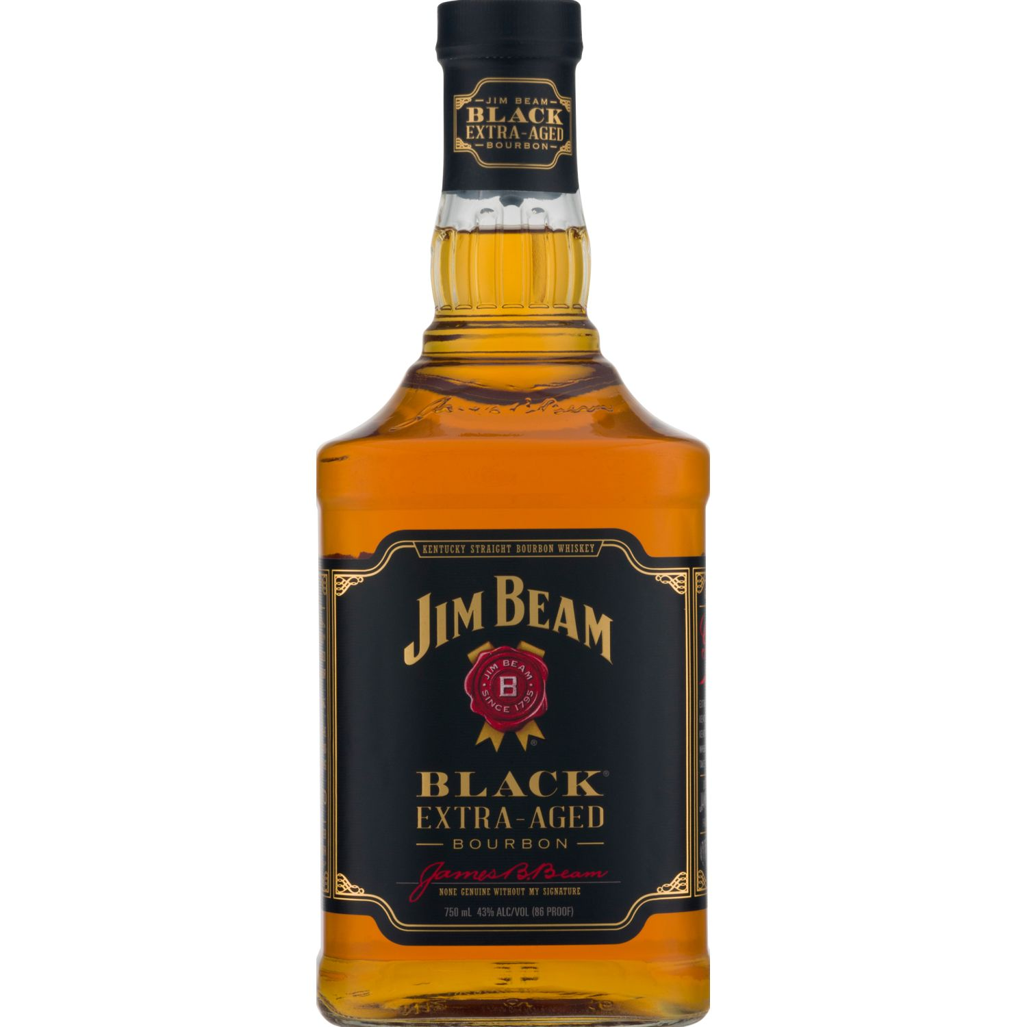 JIM BEAM WHISKY JIM BEAM BLACK EXT AGED X 750ML Blanco Whisky y escocés
