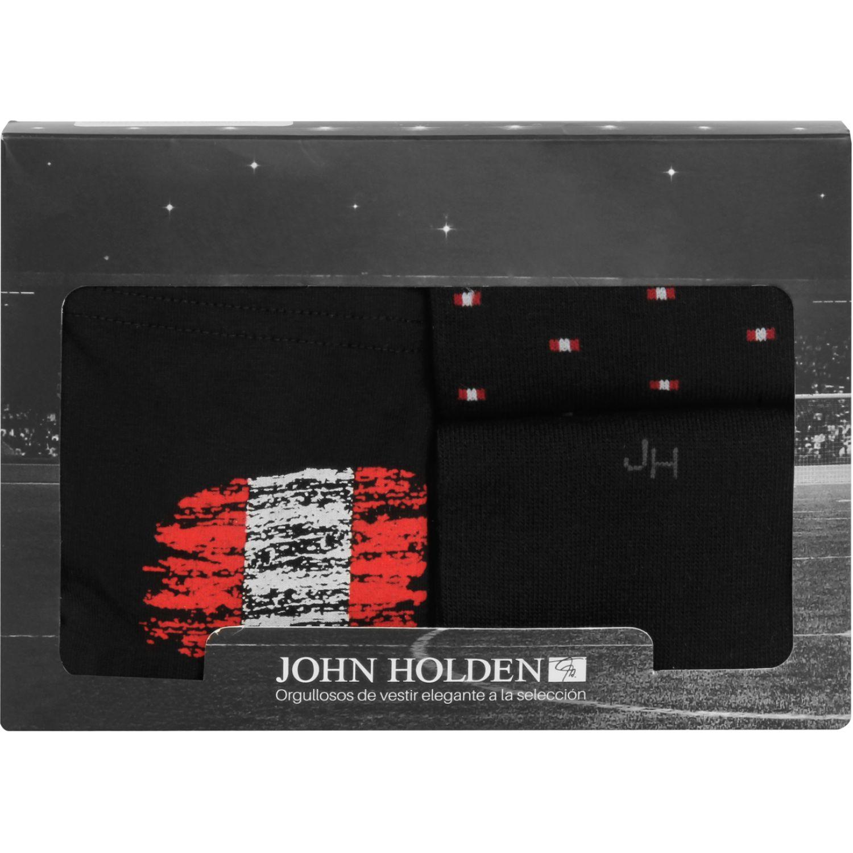 JOHN HOLDEN Pack Boxer + 2 Par Media Rxj380