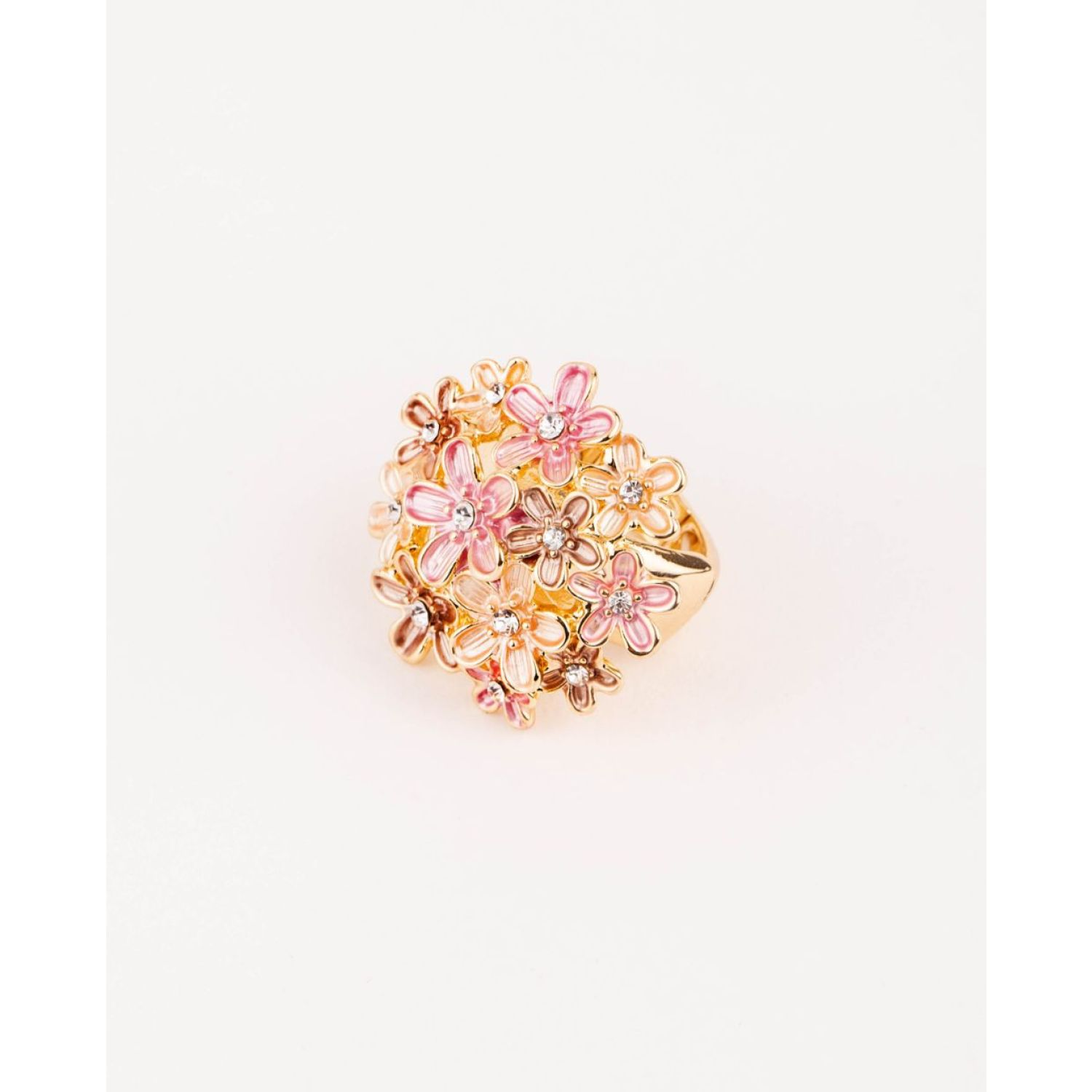 BE SIFRAH Anillo Florum Flowers MULTICOLOR Stacking