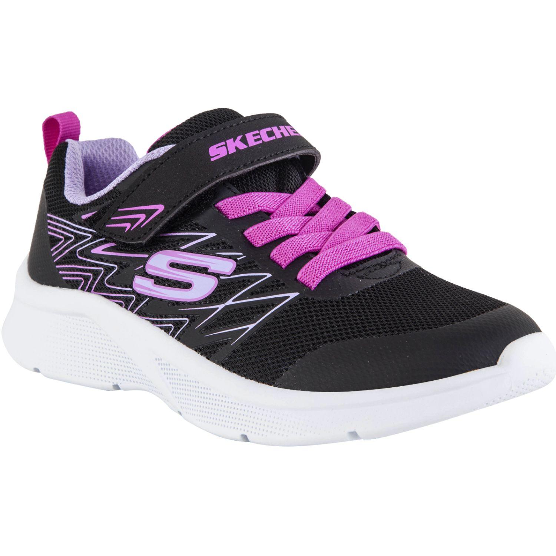 Skechers Skechers Zapatillas Walking Microspec Black Para caminar