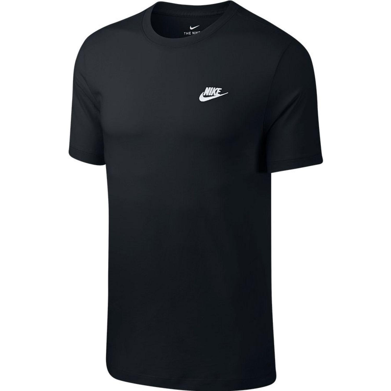 Nike M Nsw Club Tee Negro Camisetas y polos deportivos