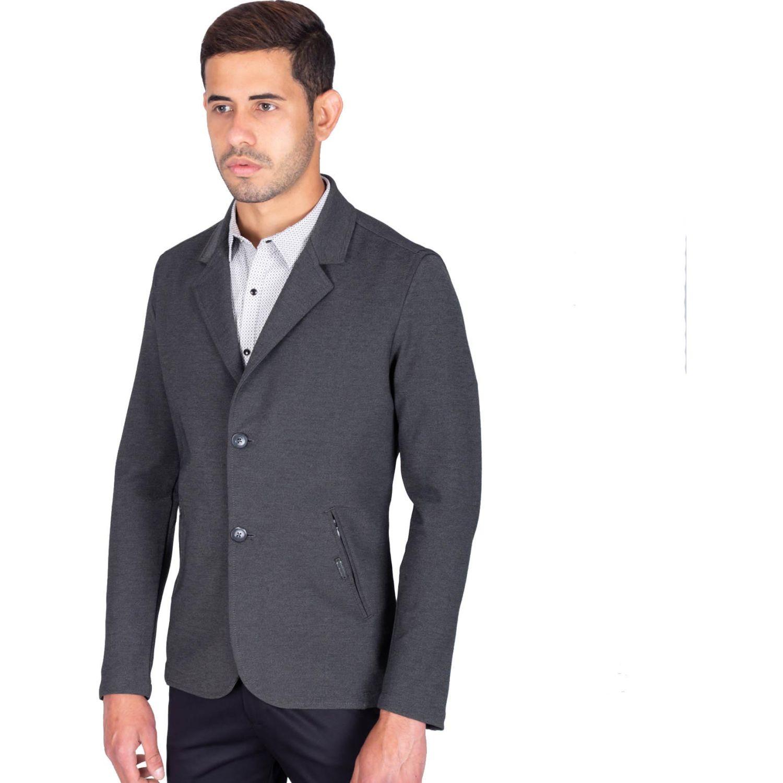 The Cult Blazer Tejido Especial, Slim Fit Plomo Abrigos deportivos y blazers