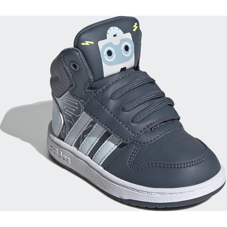 Adidas Hoops Mid 2.0 I Acero Niños