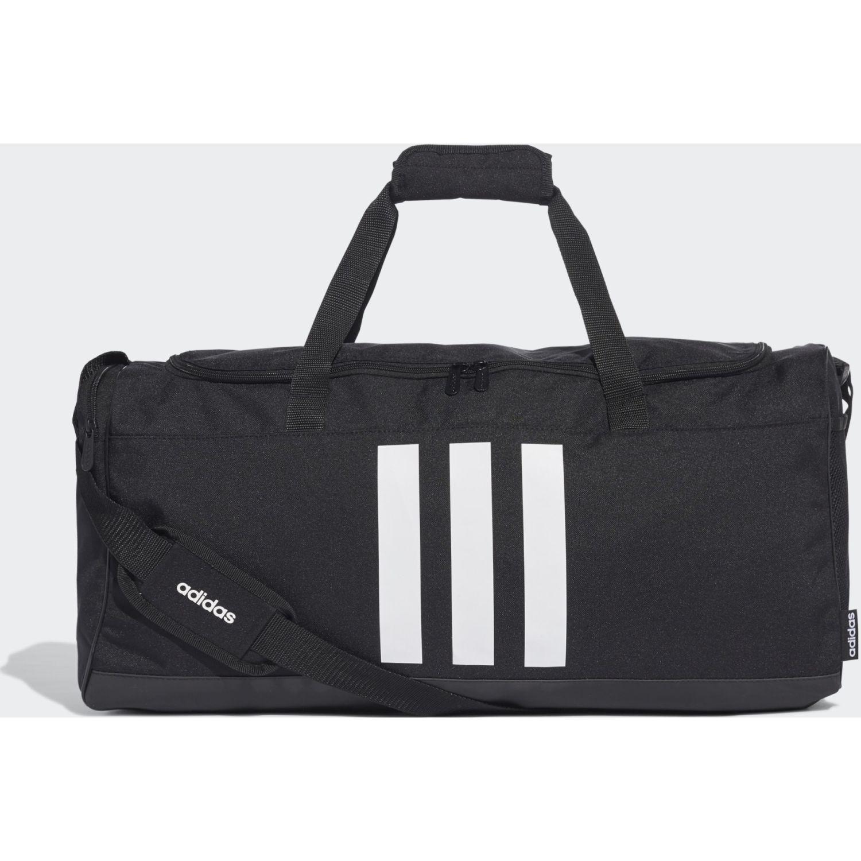 Adidas 3s Duf M Negro / blanco Bolsos de gimnasio
