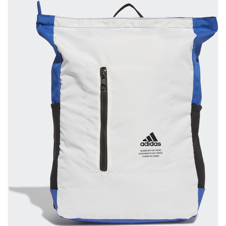 Adidas Clas Bp Top Zip Blanco Mochilas Multipropósitos