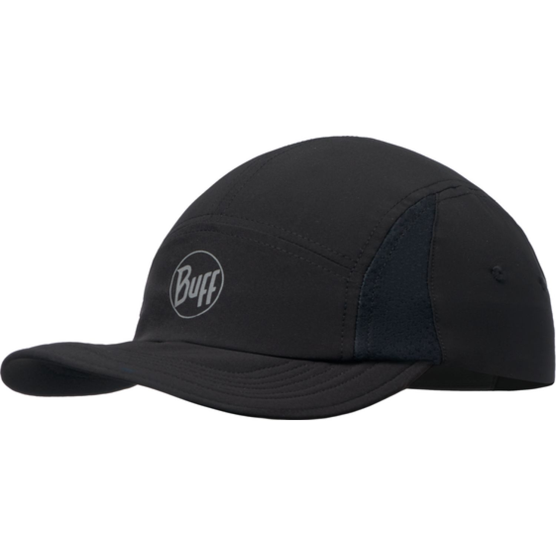 BUFF Buff Run Cap R-Solid Black Negro Gorras de béisbol