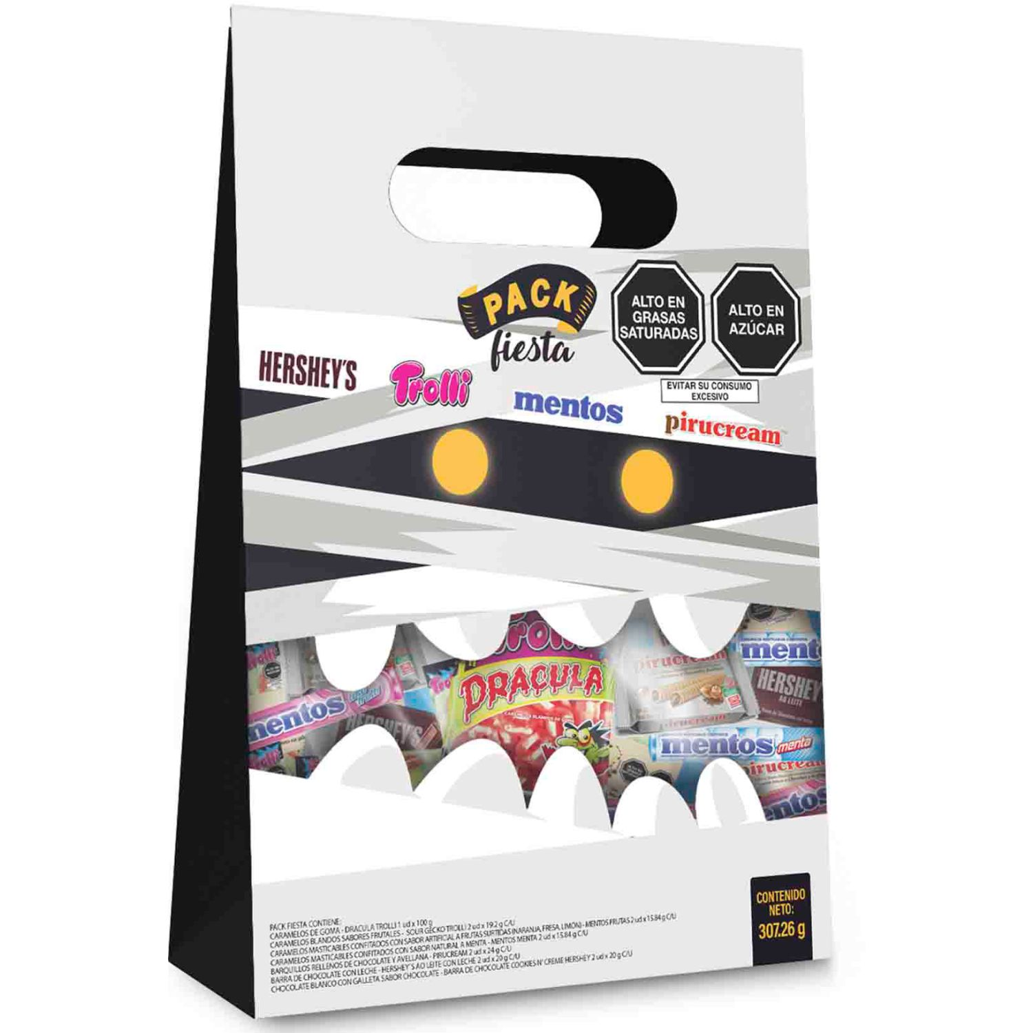 HERSHEY'S Pack Fiesta Halloween Sin color Surtidos de dulces y chocolate