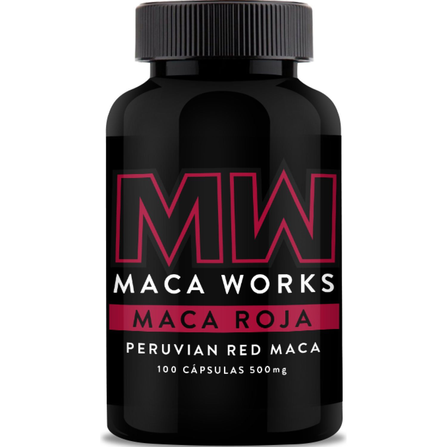 Maca Works Maca Roja 100caps Sin color C-complex