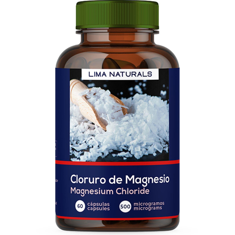 Lima Naturals Cloruro De Magnesio 60caps Sin color Multiminerals
