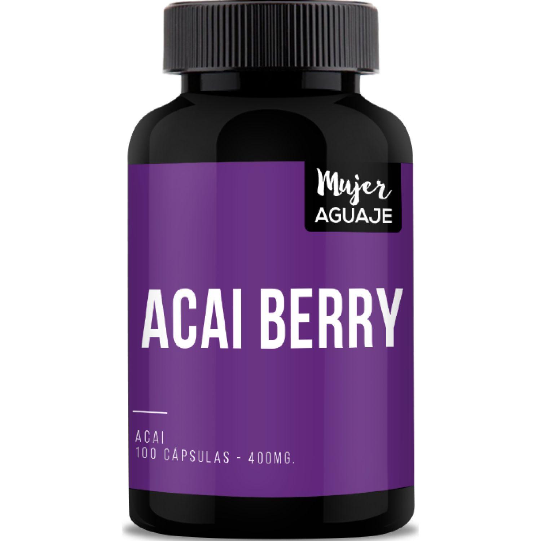 Mujer Aguaje Acai Berry 100caps Sin color B1 (tiamina)