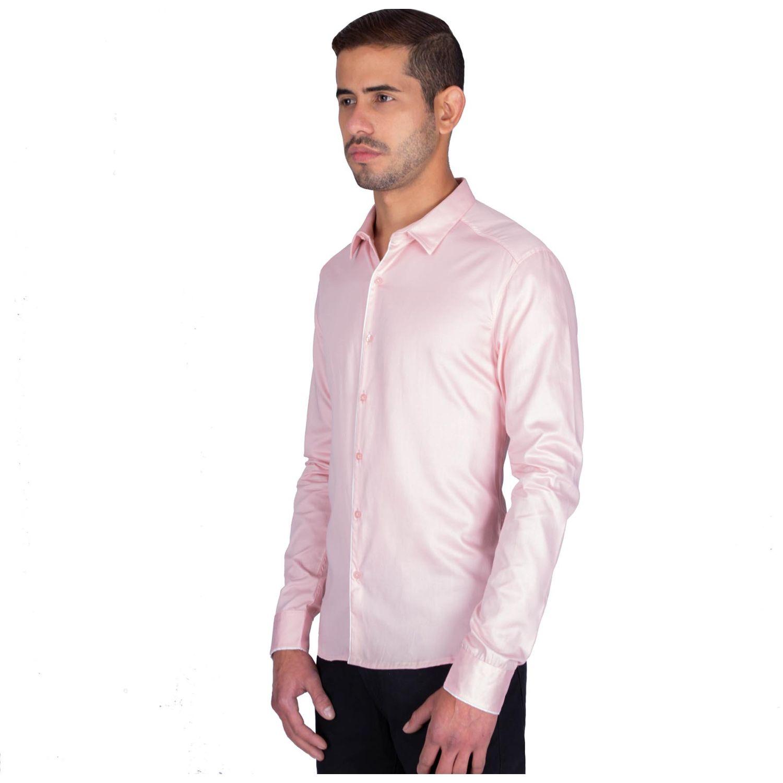 The Cult Camisa Manga Larga, Perfect Fit Rosa Camisas de botones