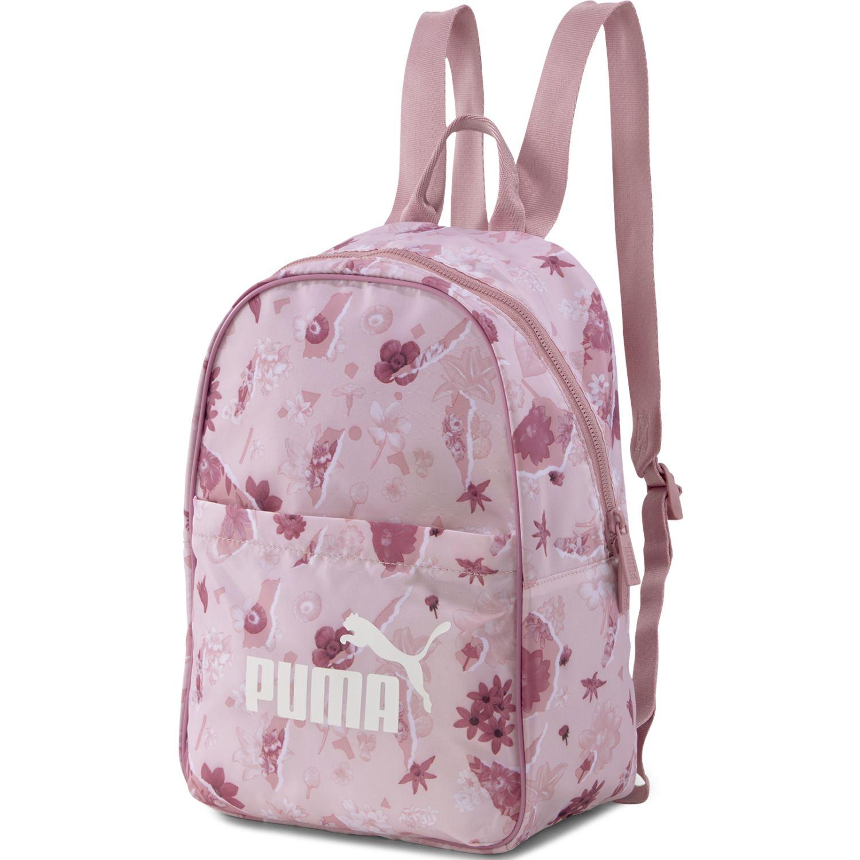 Puma Wmn Core Seasonal Backpack Rosado Mochilas multipropósitos
