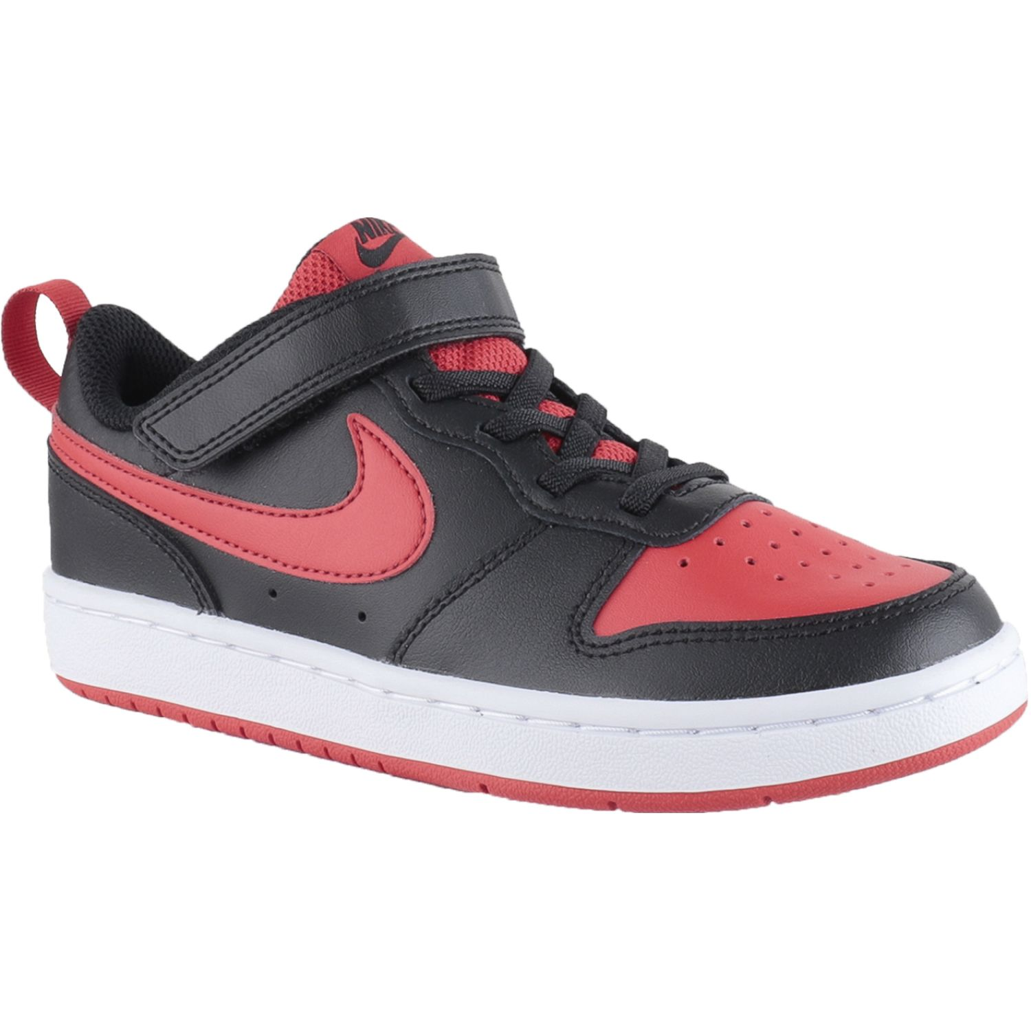 Nike Nike Court Borough Low 2 Bpv Negro / rojo Para caminar
