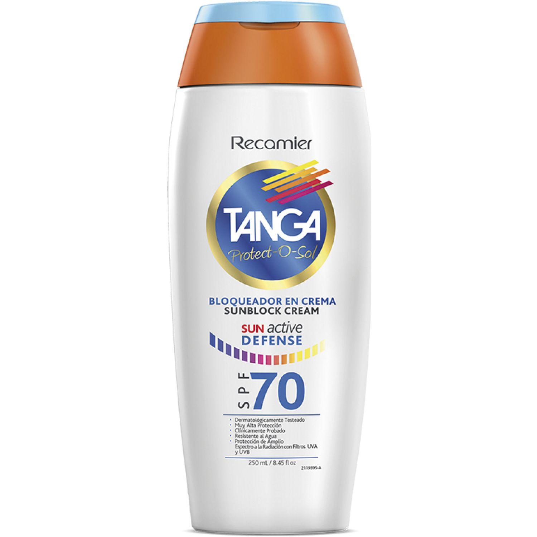 TANGA Crema Bloqueadora Adultos Spf 70 Tanga Blanco Hidratantes faciales