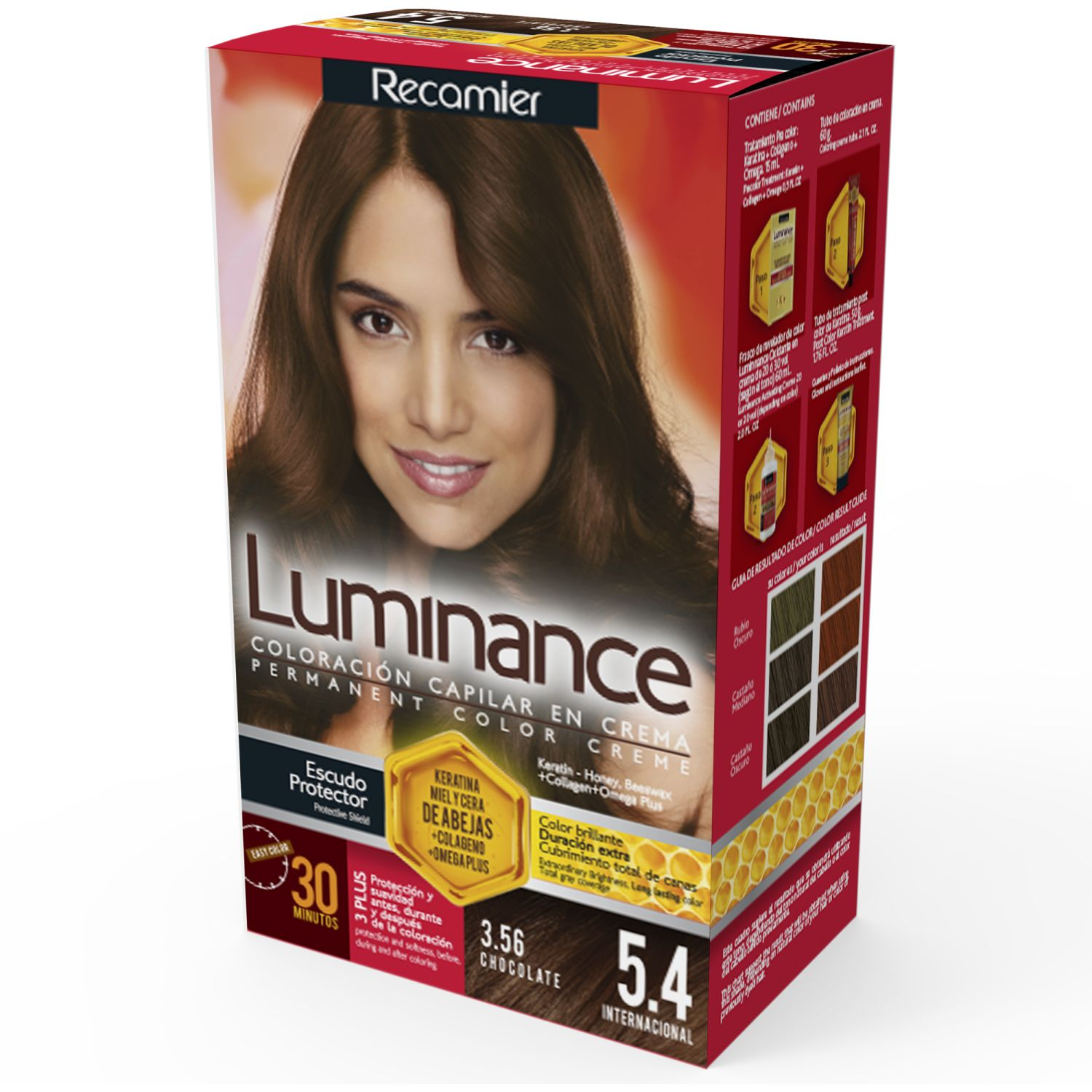 LUMINANCE Tinte Luminance Kit 5.4 60g Chocolate Tintes