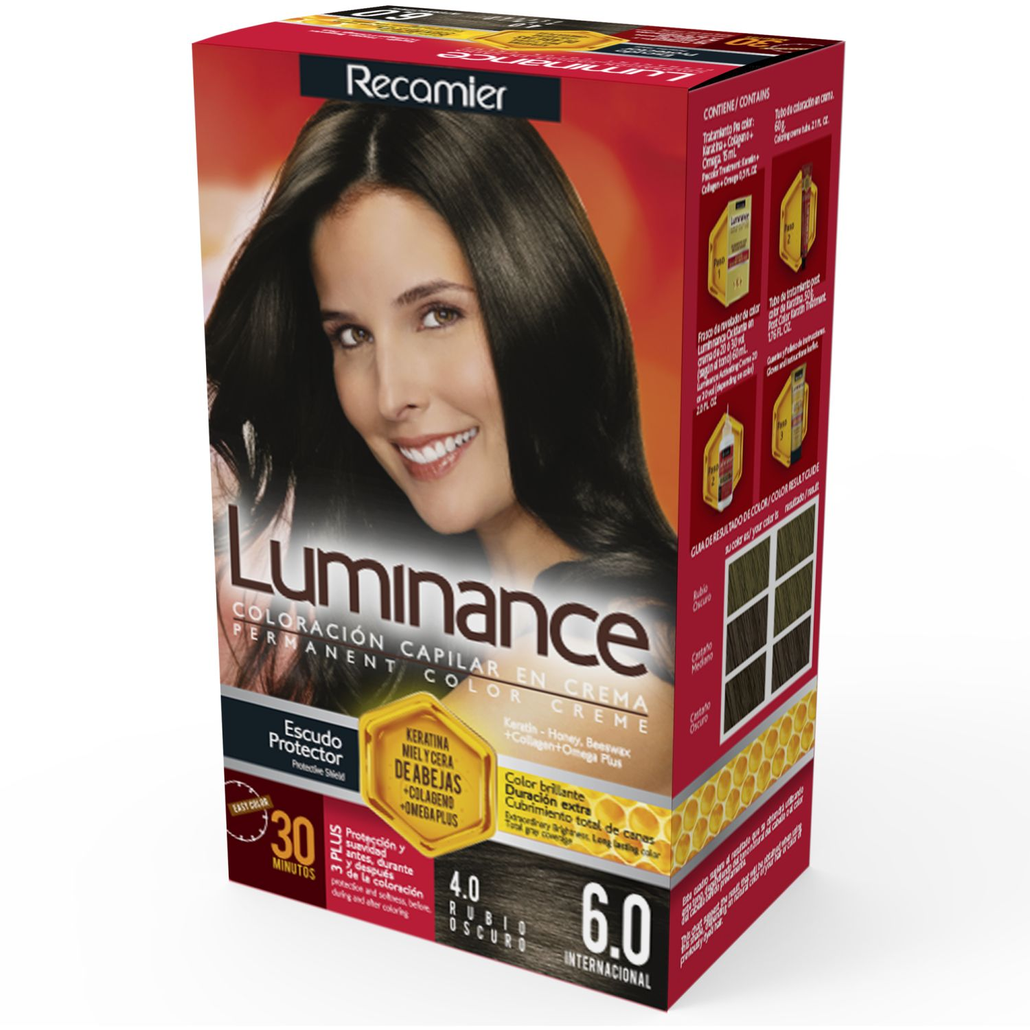 LUMINANCE Tinte Luminance Kit 6.0 60g RUBIO OSCURO Tintes