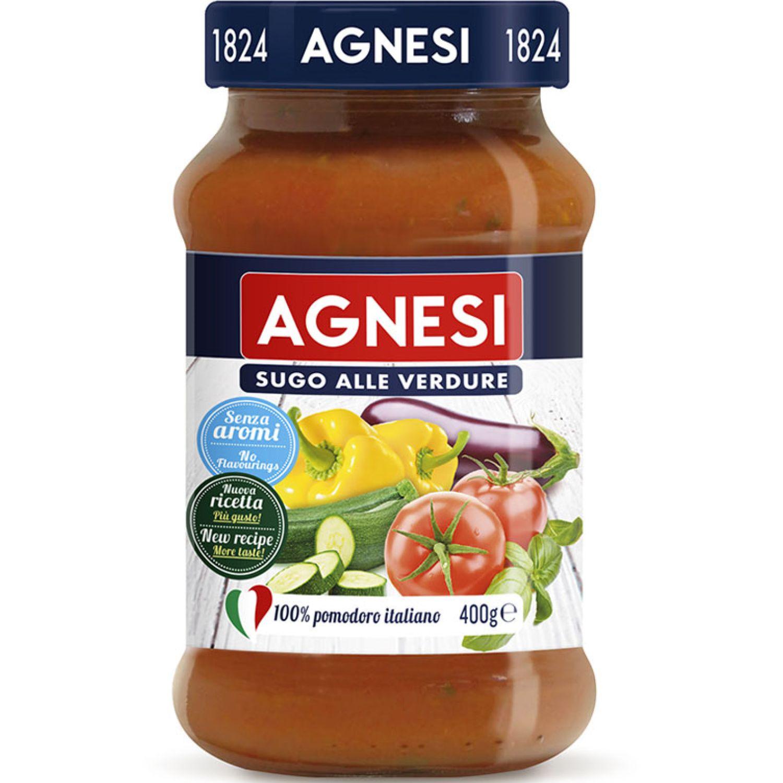 AGNESI Pomodoro Verdure 400gr Sin color Salsa de tomate