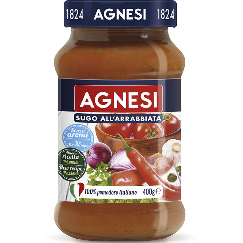 AGNESI Pomodoro Arrabiata 400gr Sin color Salsa de tomate