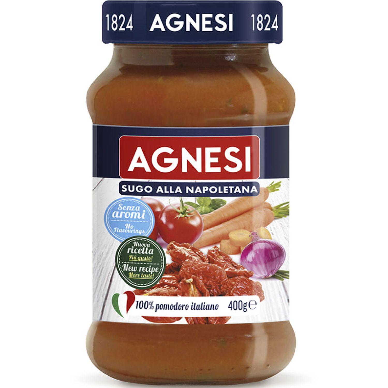 AGNESI Pomodoro Napolitana 400gr Sin color Salsa de tomate