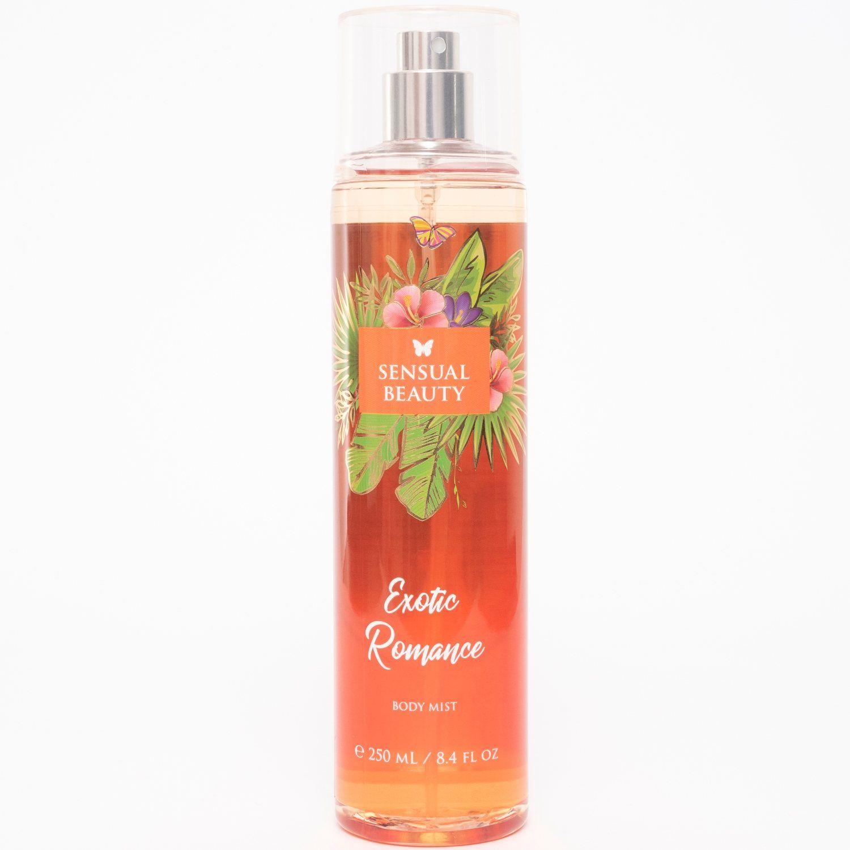 SENSUAL BEAUTY Body Mist Exotic Romance 250ml Naranja Colonia