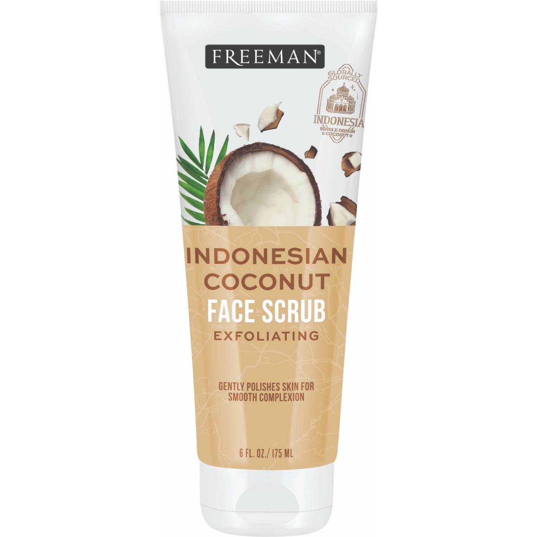 FREEMAN Exfoliante Facial Coco Indonesio 175ml Blanco Exfoliadores