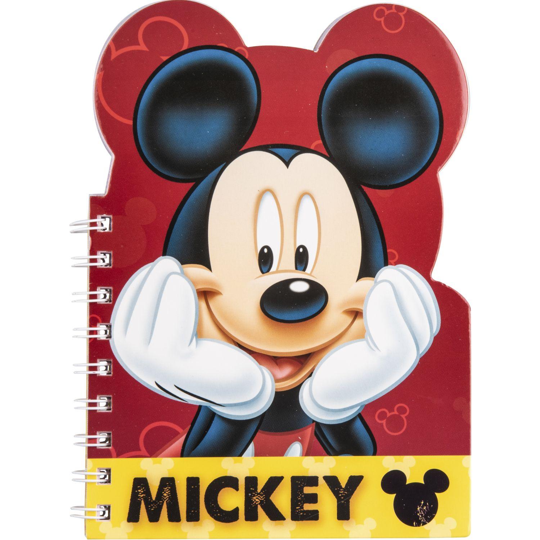 Artesco Libreta Troquelada Mickey Varios Cuadernos sujetos