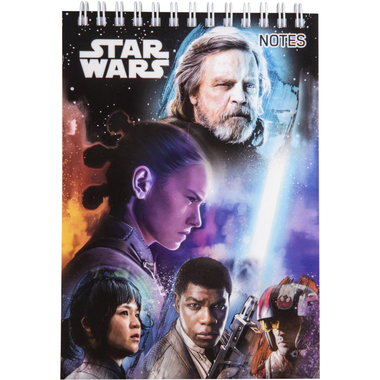 Artesco Libreta Star Wars  Espiralada Varios Cuadernos sujetos