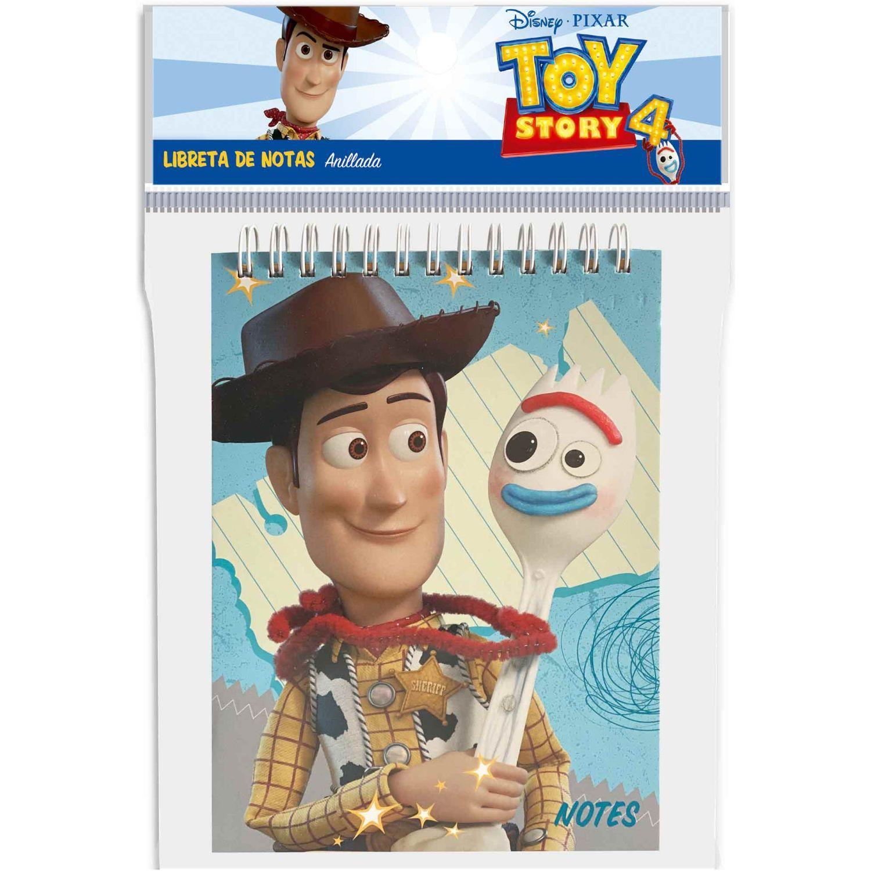 Toy Story Libreta De Notas Empastada (15x15 Cm.) Varios Cuadernos sujetos