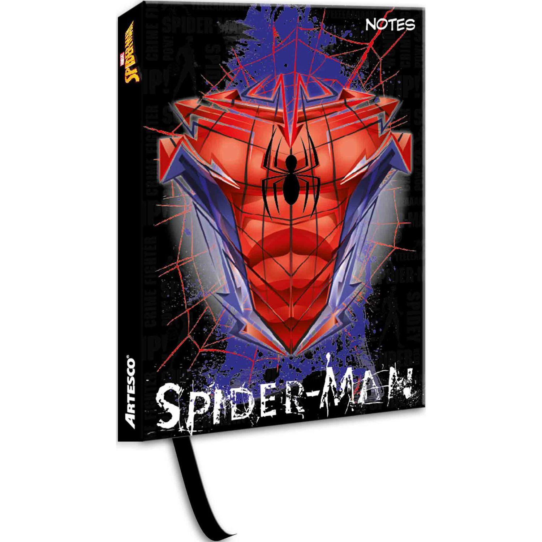 SPIDER-MAN Libreta Notas Empastada Acolch13x18 Cm Varios Cuadernos sujetos