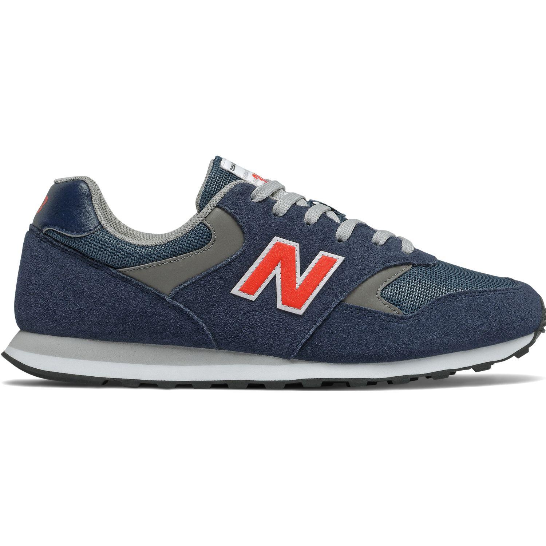 New Balance Zapatilla Ml393ss1 Azul Guinda Para caminar