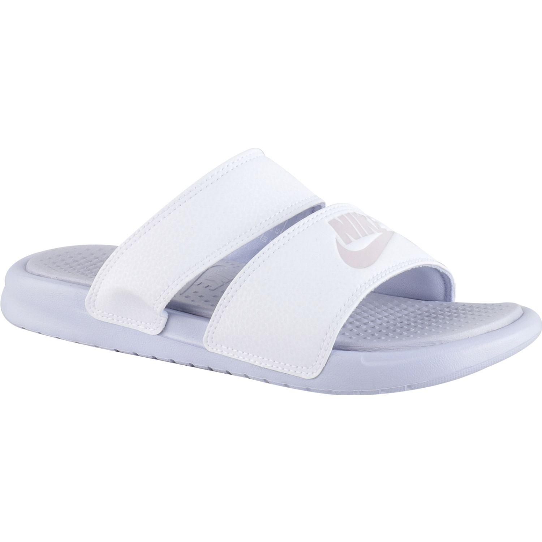 Nike Wmns Benassi Duo Ultra Slide Blanco Sandalias y chanclas deportivas