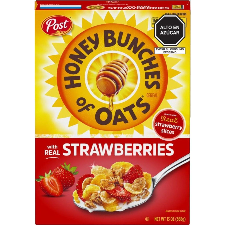Post Cereal Hbo Strawberry X 368 Gr Sin color Desayuno y barras de cereales