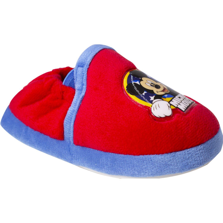 Mickey Pantufla Mickey Rojo Pantuflas