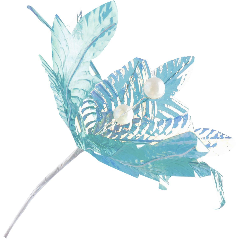 Platanitos Cardenal 2 Turquesa Flores
