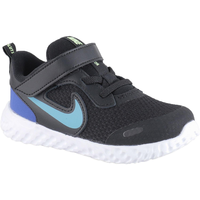 Nike Nike Revolution 5 Tdv Negro Zapatillas