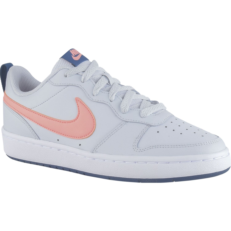 Nike Court Borough Low 2 Bg Gris / naranja Para caminar
