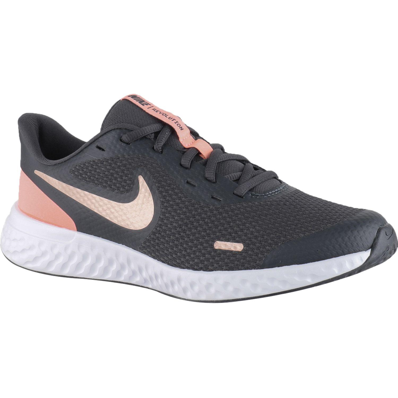 Nike Nike Revolution 5 Gs Negro Para caminar